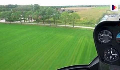 helikopter rondvlucht Megen Haren en Macharen