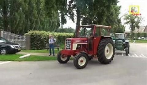 Historische tractoren in Megen